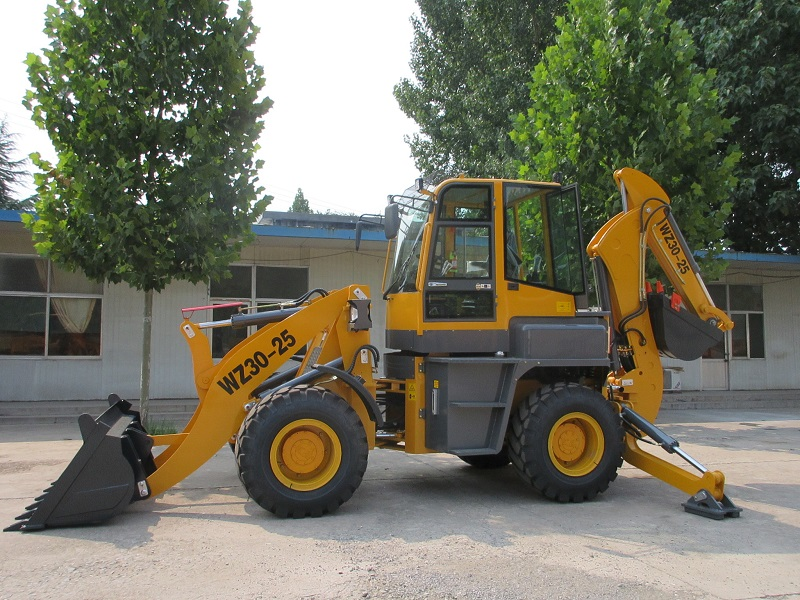 Backhoe LoaderWZ30-25 Featured Image