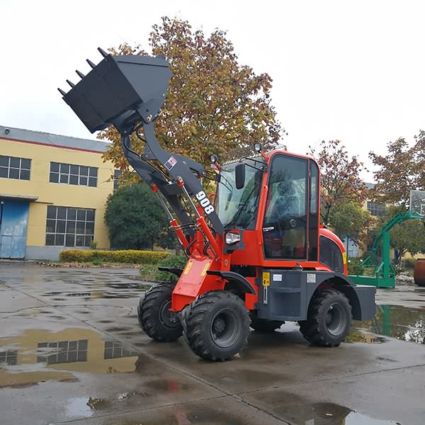 Wheel Loader ZL908 Featured Image